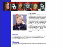 Mary Stuart Masterson Website